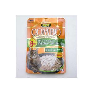 【A級トリマーおすすめ】  ミオ コンボ デリパック シニア マグロ白身とササミ 70g|a-pet