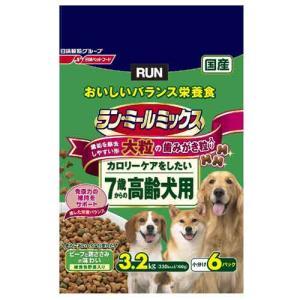 ラン ミールミックス 大粒 7歳から 高齢犬用 3.2kg a-pet