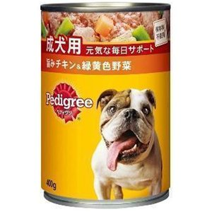 ペディグリー 成犬用 旨みチキン&緑黄色野菜 400g  a-pet