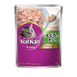 カルカン ウィスカス味わいセレクト 1歳から まぐろとたい|a-pet