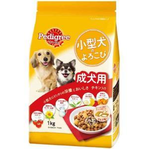 ペディグリー 小型犬のよろこび 成犬用 チキン入り 1kg PK1 |a-pet