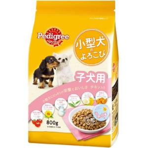 ペディグリー 小型犬のよろこび 子犬用 チキン入り 800g PK3 |a-pet