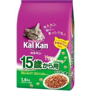 カルカンドライ 15歳からのおいしいシニア用 かつおと野菜味 1.6kg KD28 |a-pet