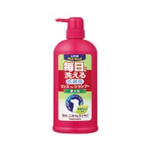 ライオン 犬用シャンプー ペットキレイ 毎日でも洗えるリンスインシャンプー 愛犬用 ポンプ 550ml a-pet