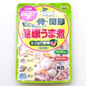 【新商品】ライオン うちの子想い 骨・関節 気になりだしたら 健康うま煮 たっぷり野菜 80g|a-pet