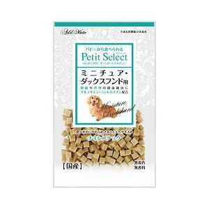 ヤマヒサ アドメイト 犬用おやつ プチセレクト ミニチュア・ダックスフンド用 80g|a-pet