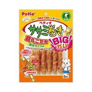 ヤマヒサ ペティオ 犬用おやつ ササミ巻き BIGガム 6本入|a-pet