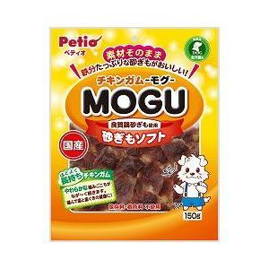 ヤマヒサ ペティオ 犬用おやつ チキンガム MOGU 砂ぎもソフト 150g|a-pet