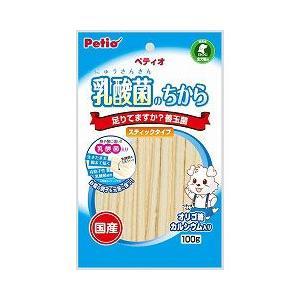 ヤマヒサ ペティオ 犬用おやつ 乳酸菌のちから スティックタイプ 100g|a-pet