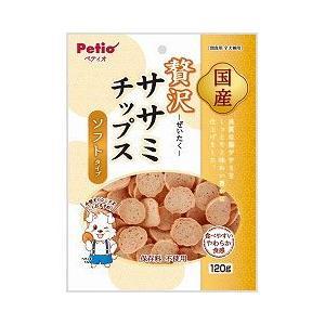 ヤマヒサ ペティオ 犬用おやつ ササミチップス ソフトタイプ 120g|a-pet