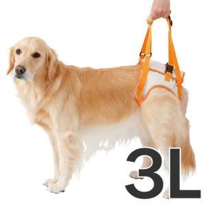 zuttone 老犬介護用 歩行補助ハーネス 後足用 3L 大型犬用 |a-pet