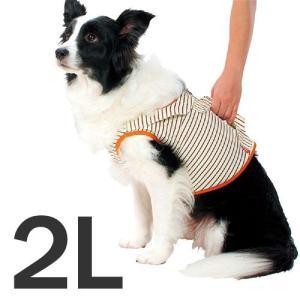 zuttone 老犬介護用 補助機能付ベスト 2L 中型犬用 |a-pet
