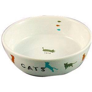 マルカン 猫用 陶器食器 遊ぶ猫 CT-204 |a-pet