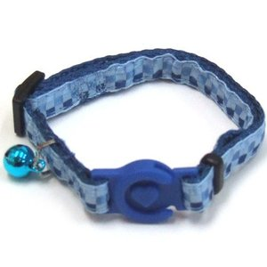 岡野製作所 猫用首輪 プリティーキャットカラー ブルー |a-pet
