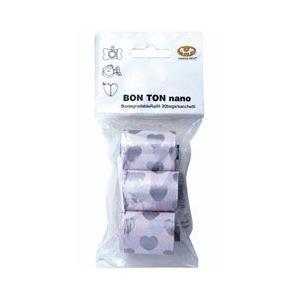 [P]ユナイテッドペッツ マナー袋ホルダー ボントン ナノ 取替袋 30回分(10回分×3個) ピンク|a-pet