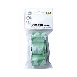 [P]ユナイテッドペッツ マナー袋ホルダー ボントン ナノ 取替袋 30回分(10回分×3個) グリーン|a-pet