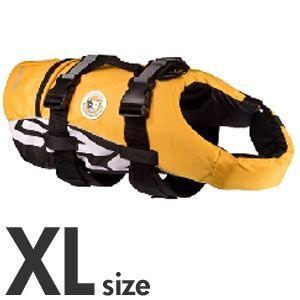 [P]EZYDOG DFDスタンダード XL 大型犬用フローティングベスト イエロー |a-pet