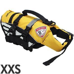 [P]EZYDOG 犬用フローティングジャケット DFDマイクロ XXS 超小型犬用 イエロー |a-pet
