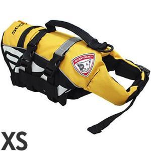 [P]EZYDOG 犬用フローティングジャケット DFDマイクロ XS 小型犬用 イエロー |a-pet