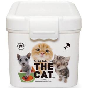 伊勢藤 フードストッカー THE CAT フードBOX S 2kg用 I-503 |a-pet