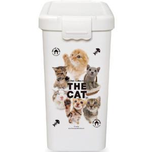 伊勢藤 フードストッカー THE CAT フードBOX L 3−4kg用 I-503-1 |a-pet