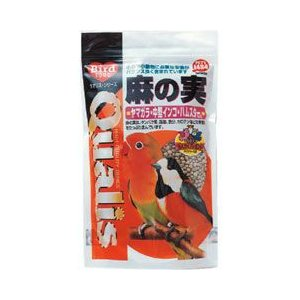 クオリス 鳥の餌 麻の実 中型インコ・ハムスターなど 250g|a-pet