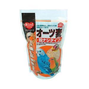 クオリス 鳥の餌 オーツ麦 殻ナシタイプ 350g|a-pet