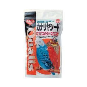 クオリス 鳥の餌 カナリヤシード セキセイインコ・文鳥・カナリアなど 350g|a-pet