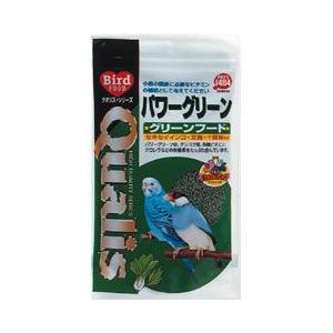 クオリス 鳥の餌 パワーグリーン グリーンフード 100g|a-pet