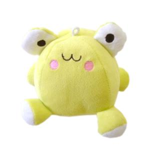 愛犬用おもちゃ ふわふわボール FA−60 カエル a-pet