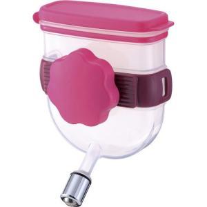 リッチェル ペットキャリー用給水器 ペット用ウォーターノズル キャリー用 ピンク
