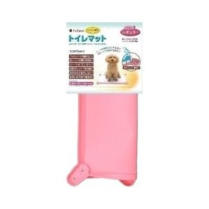 ターキー トイレマット 03 レギュラー ピンク 犬|a-pet