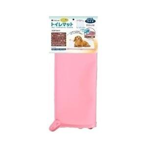 ターキー トイレマット 04 ワイド ピンク 犬|a-pet