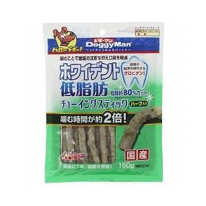 ドギーマンハヤシ 犬用おやつ ホワイデント 低脂肪 チューイング スティック ハーブ入り 160g(約20本)|a-pet
