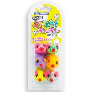 ドギーマンハヤシ キャティーマン 猫用おもちゃ じゃれ猫 よりどりチューチュー 6匹セット |a-pet