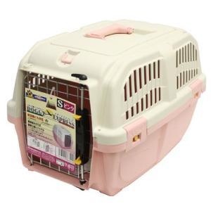 ドギーマン イタリア製ハードキャリー DOGGY EXPRESS S ピンク |a-pet