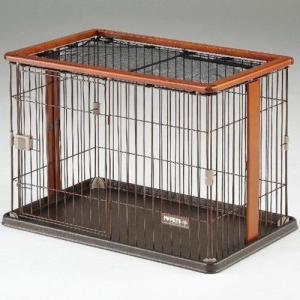 ボンビ 犬用サークル ウッドワンサークル ブラウン |a-pet