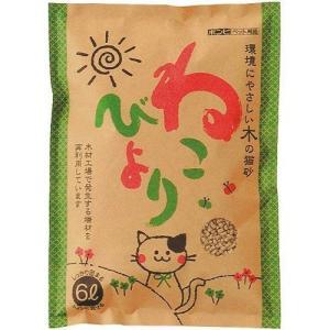 ボンビ 木の猫砂 ねこびより 6L |a-pet