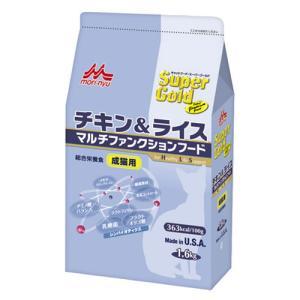SuperGold(スーパーゴールド) チキン&ライス 成猫用 1.6kg|a-pet
