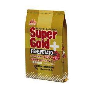スーパーゴールド 犬用ドライフード フィッシュ&ポテト プラス 3kg|a-pet