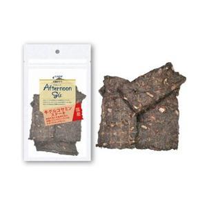ジャンプ 犬用おやつ アフタヌーングー 牛 グルコサミン ステーキ 50g|a-pet