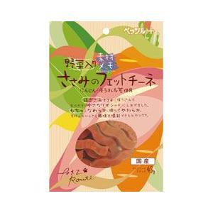 ペッツルート 犬用おやつ 素材メモ 野菜入り ささみのフェットチーネ 45g|a-pet
