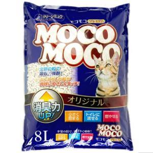 クリーンミュウ 紙の猫砂 モコモコオリジナル 8L |a-pet