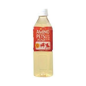 アースバイオケミカル ペット用飲料水 アミノペッツ 500ml a-pet