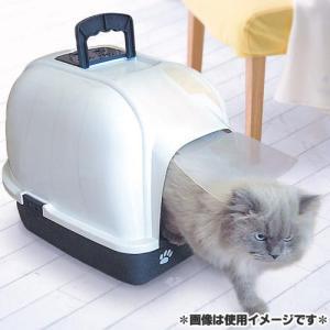 ファンタジーワールド 猫用トイレ クリーンハウストイレ ブルー CC-2B |a-pet