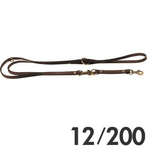 ファープラスト 犬用リード VipGM 2頭引きリード 12/200 ブラウン 75146958  a-pet