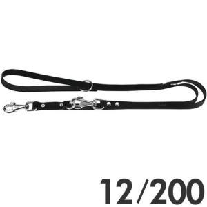 ファープラスト 犬用リード ナチュラルGA 2頭引きリード 12/200 ブラック 75304917 |a-pet