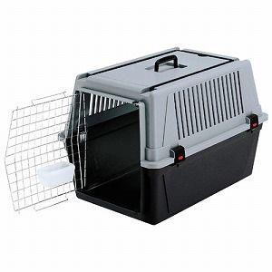 ファープラスト ペットキャリー アトラス40 中型犬用 グレー 73011021 |a-pet
