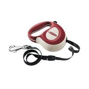ファープラスト 犬用リード 伸縮リード フリッピー コントローラー L 6m テープタイプ レッド 75055029|a-pet