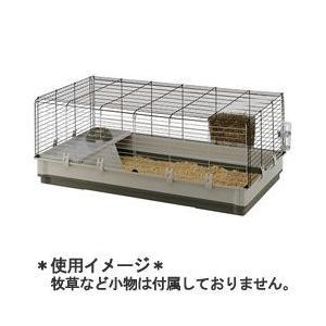 ファープラスト ウサギ用ケージ クロリック XL グリーン 57071517|a-pet